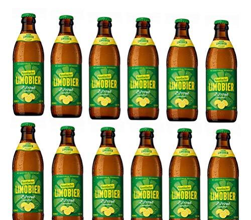 12 Flaschen Krombacher Limobier Zitrone naturtrüb mit 1,5% Vol. inclusiv 0.48€ MEHRWEG Pfand Biermix