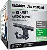 Rameder Attelage rotule démontable pour Renault KANGOO Express + Faisceau 13 Broches (162169-03520-1-FR)