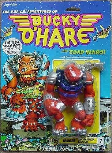 Bucky O'Hare Bruiser the Berserker Baboon Action Figure by Hasbro