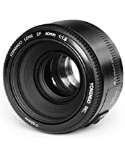 Yongnuo EF YN 50mm F/1.8 1:1.8 Standard Prime Lens for Canon Rebel Digital Camera Works Well with Almost All Canon DSLR Cameras