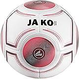 JAKO Futsal Ballon de Football Blanc/Anthracite/Flame de Jeu, 4