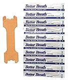 Nasenpflaster Premium - Groß (Large) - Sunglow Better Breathe - gegen Schnarchen - klein mittel groß verfügbar (10)