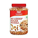 Contains zero added sugar This diet-friendly cereal gets its sweetness from naturally occurring sugars of grains, fruits and nuts. Rich source of fibre. Made using premium quality ingredients like raisins, almonds and apple juice concentrate Crunchy,...