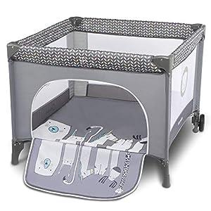 Lionelo Sofie - Parque para bebé o bebé (15 kg, bolsa de transporte), color gris