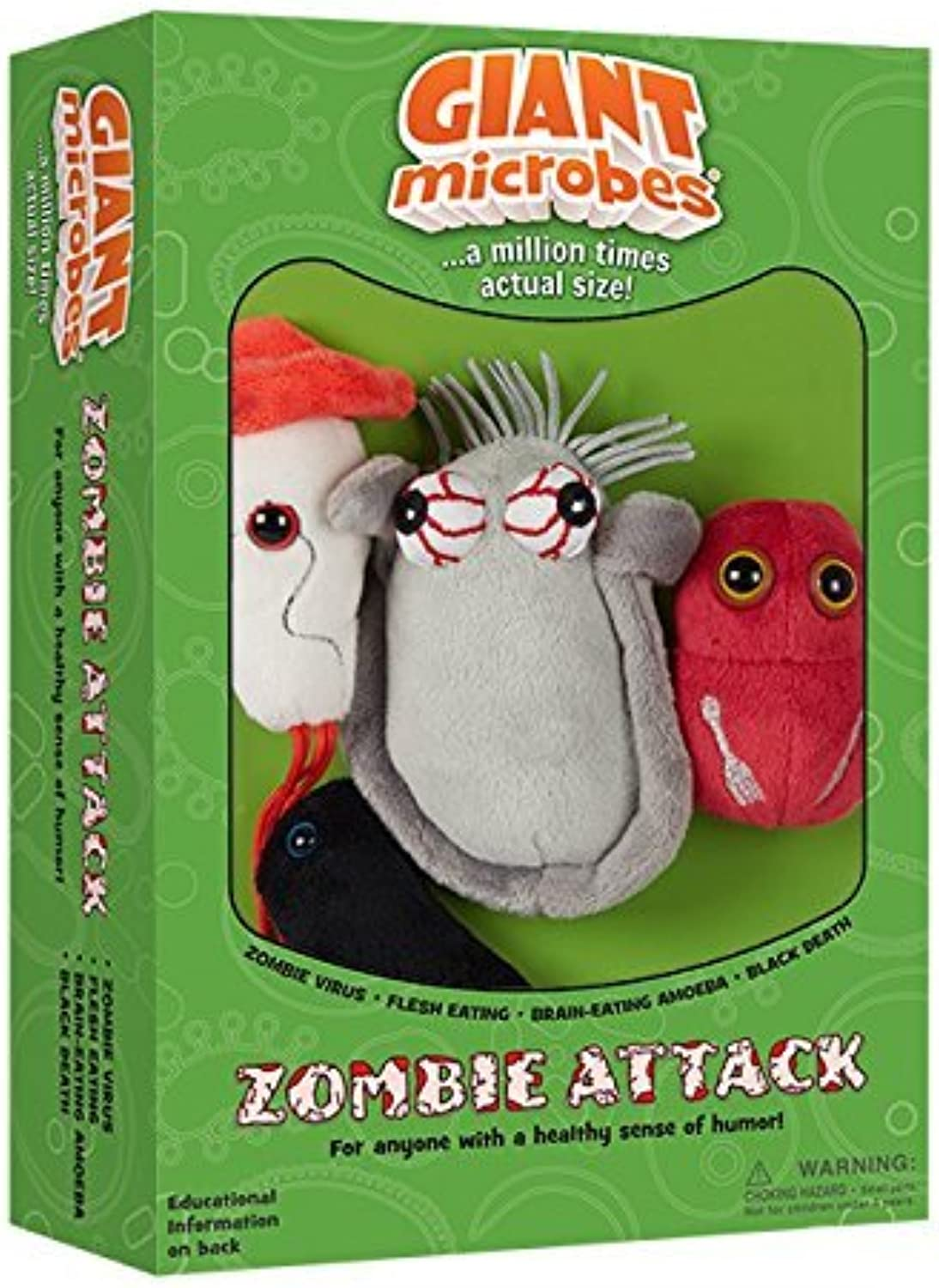 Giantmicrobes Themed Gift Boxes  Zombie Attack by Giant Microbes