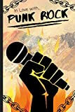 In Love With Punk Rock: Lined Notebook / Journal Gift Idea for Kids & Adults
