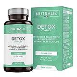 Detox Potente Hígado | Plan Detox Adelgazante y Diurético Vegano | Cleanser para Eliminar Toxinas...