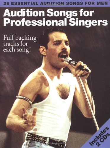 Audition Songs For Professional Male Singers (PVG, Book, 2 CD): Noten, CD (2) für Männerstimme (Gesang) Klavier (Gitarre): 28 Essential Audition Songs (PIANO, VOIX, GU)
