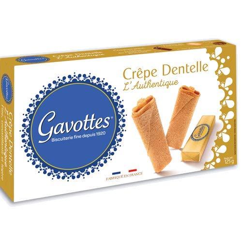 Gavottes - Waffelröllchen (Crêpe Dentelles) natur 125 g