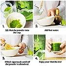 uVernal Organic Matcha Green Tea Powder 100% Pure Matcha for Smoothies, Latte and Baking - 4oz #2