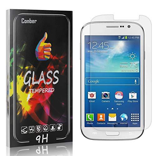 Conber [4 Stück] Displayschutzfolie kompatibel mit Samsung Galaxy Grand Neo I9060, Panzerglas Schutzfolie für Samsung Galaxy Grand Neo I9060 [Hüllenfreundlich][9H Härte]