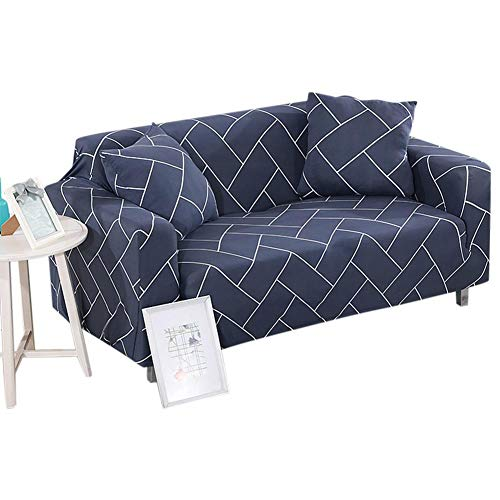 Cafopgrill Funda de sofá Funda de sofá Antideslizante Resistente al Polvo elástica Funda de sofá/Dos/Tres/Cuatro Asientos(1 Asiento: 90-140cm)