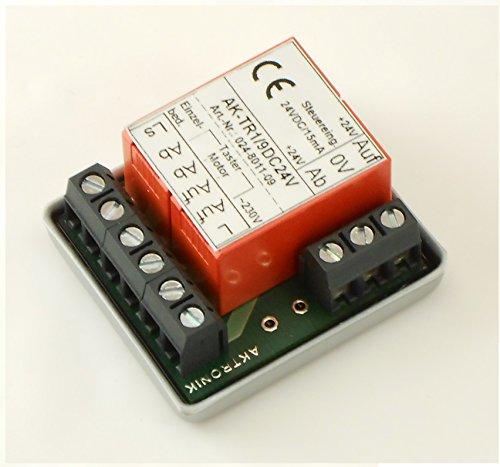 24VDC Trennrelais für 1 Rollladen, Art: 024-8011-09