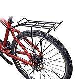 LFDHSF Portaequipajes para Bicicletas Portaequipajes para Ciclistas con tija de sillín Desbloqueo rápido Portaequipajes de Montaje Trasero Universal