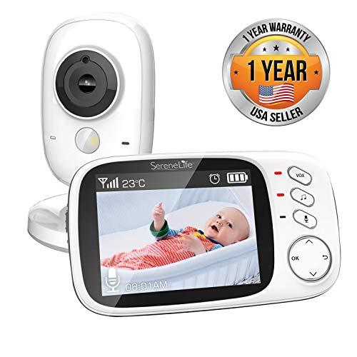 Video Baby Monitor Long Range Upgraded 850' Wireless Range, Night Vision,...