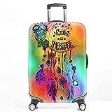 XKMY Maleta cubierta protectora para maleta, maleta, maleta, maleta, maleta, funda elástica más gruesa, accesorios de viaje (color: B, tamaño: XL)