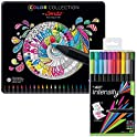 44-Count BIC Color Collection by Conte Felt Pen