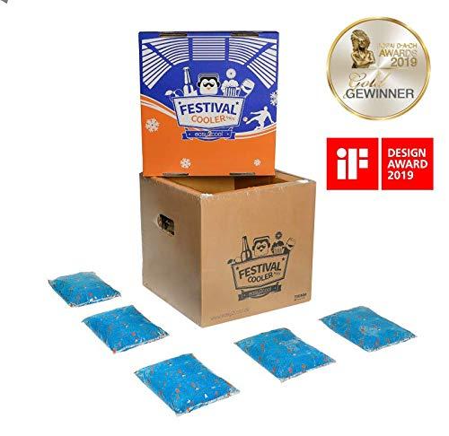 easy2cool Festival Cooler Mini - die Kühlbox mit 34l Nutzvolumen inkl. easyAkkus