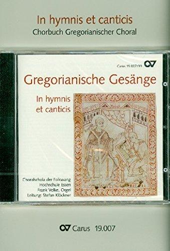 In hymnis et canticis. Chorbuch Gregorianischer Choral. Paket