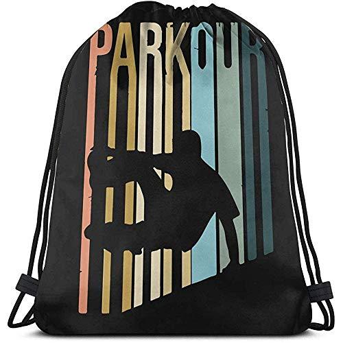 MOTALIN Unisex School Umhängetaschen,Travel Drawstring Bag Parkour Rucksack Sports Gym Yoga Bag