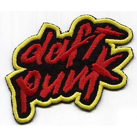 Parche Bordado Para Planchar O Coser En La Insignia De Daft Punk Arte Manualidades Y Costura