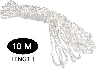 24 Farben 1mm Makramee Garn High Quality gewachst Rolle Basteln 10m schwarz