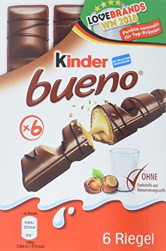 Kinder Bueno Vorratspack, 9er Pack (9 x 129 gr Packung)