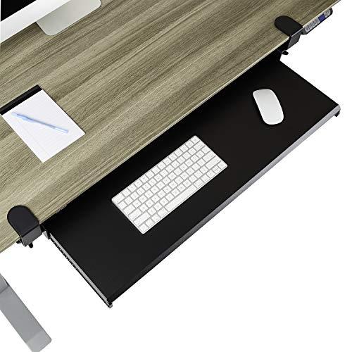 """Seville Classics Computer Desk Accessory, 31.5"""", Black"""