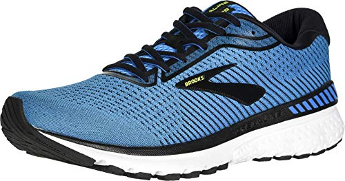 Brooks Men's Adrenaline Gts 20 Running Shoe, Blue/Black/Nightlife, 10 MEN'S
