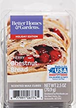 Better Homes and Gardens Cherry Chestnut Bread Wax Cubes