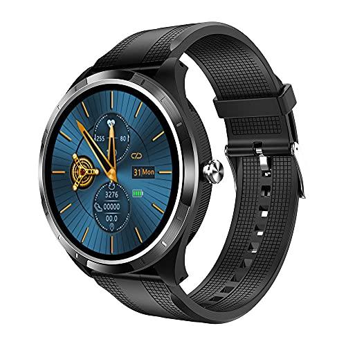 Smart Watch Fitness pulsera Ip68 impermeable Bluetooth llamada masculina y hembra podómetro adecuado para todo tipo de teléfonos móviles correa extraíble-C.