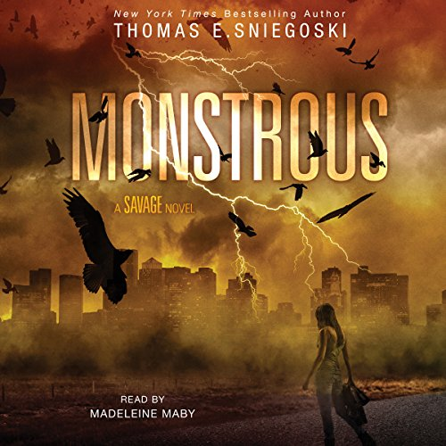 Monstrous audiobook cover art