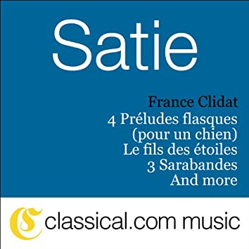 Erik Satie, Nouvelles Pièces Froides