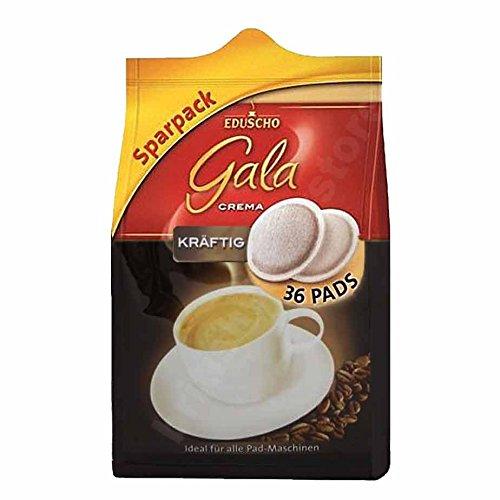 Eduscho Gala Caffe Crema kräftig 32 Pads