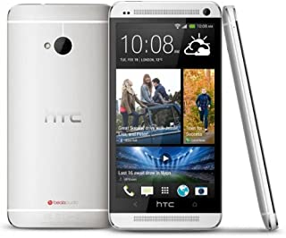 HTC One M7 Unlocked Cellphone, 32GB, Silver