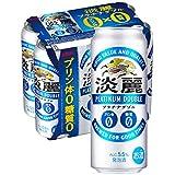 【発泡酒】[糖質ゼロ・プリン体ゼロ]キリン 淡麗プラチナダブル [ 500ml×6本 ]