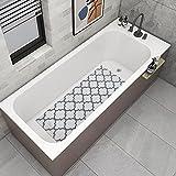 DESIHOM Soft Textured Loofah Non Slip Shower Mat, Comfortable Quick Drying Square Bathtub Mat/ Shower Stall Mat/ Shower Floor Mat/ Sink Mat 21x21 Inch