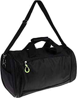 Baoblaze Large Capacity Gym Duffel Bag Sport Travel Yoga Pack with Shoes Compartment Carrier
