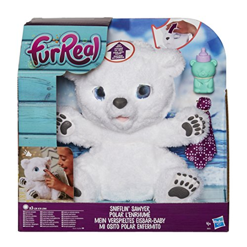 FurReal friends Osito Interactivo, Multicolor, 25 cm (Hasbro B9073EU4)