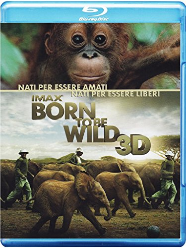 Imax - Born To Be Wild (3D) [Blu-ray] [IT Import]