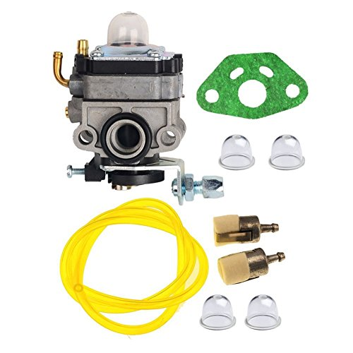 OuyFilters Carburetor with Gasket Primer Blub Fuel Line fit for Honda GX25 GX25N GX25NT FG110 HHT25S Replaces 16100-Z0H-825 Carb