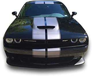 Bubbles Designs Decal Graphic Sticker Stripe Body Kit Compatible with Dodge Challenger 3rd Gen All Model Years