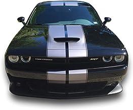 Decal for Dodge Challenger 2011 2012 2013 2014 Toro Bull Skull Hood Stripes