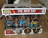 Pop Funko Vinyl WWE New Day Booty Os 3 Pack - Woods, Big E and Kofi