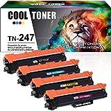 Cool Toner 4 Pack Compatibile per TN-247 TN247 TN247BK TN-243 TN243 Toner per Brother DCP-L3550CDW MFC-L3750CDW MFC-L3770CDW MFC-L3730CDN HL-L3210CW HL-L3230CDW HL-L3270CDW MFC-L3710CW DCP-L3510CDW