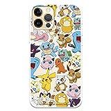 Coque pour iPhone 12-12 Pro Motif Disney officiel - Pokémon Choisissez le design que vous aimez le plus pour votre iPhone 12-12 Pro