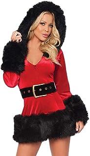 INLLADDY Frauen Weihnachts Kostüm Cosplay Performance Fancy