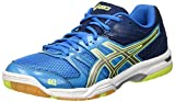 ASICS Gel-Rocket 7, Chaussures de Volleyball Homme, Bleu (Blue Jewel/Glacier Grey/Safety Yellow), 48...