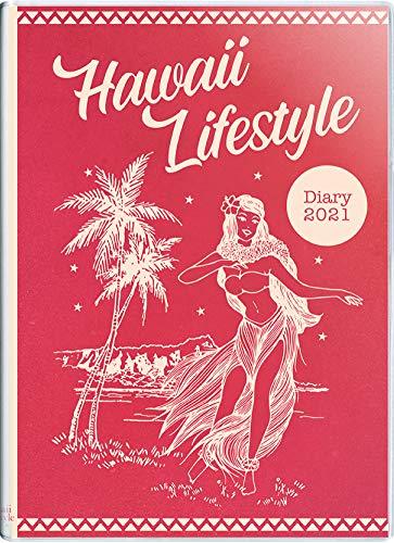 ハワイ手帳ミニ2021 10月始まり A6サイズ マンスリー ビニールカバー (HLC) (日本語) Diary