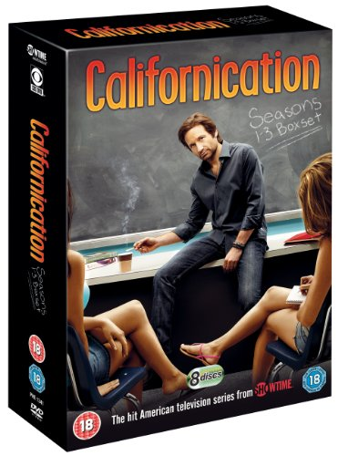 Californication Season 1-3 Box Set DVD - UK